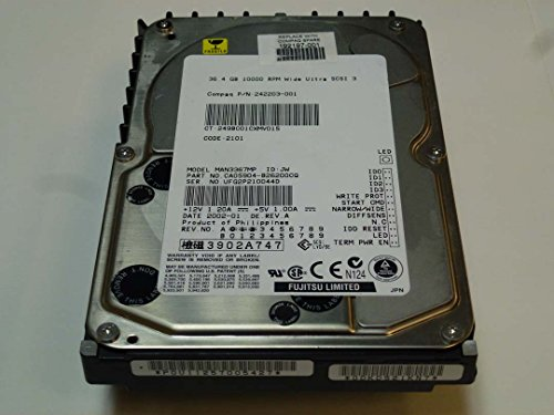 (COMPAQ 192197-001 - 36.4GB Wide Ultra3 SCSI hard drive 10,000 RPM 68 PIN- 3.5-inch f)