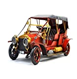 GL&G Retro Iron art car model Home Decorations High-end gift Photography props Cafe bar Tabletop Scenes Collectible Vehicles Keepsakes,3513.515.5cm