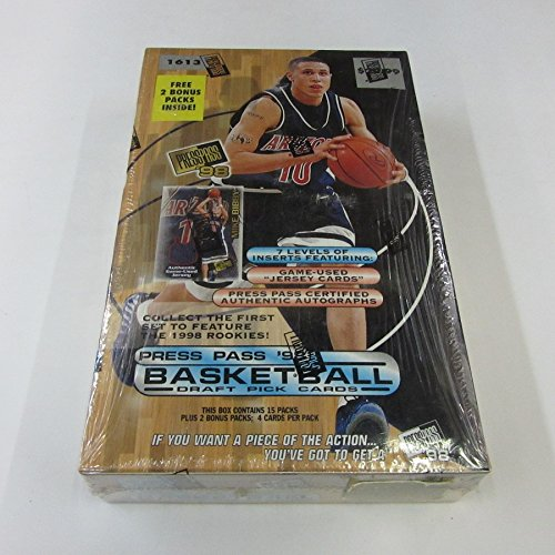 1998 1998/99 Press Pass Basketball Draft Pick Box -