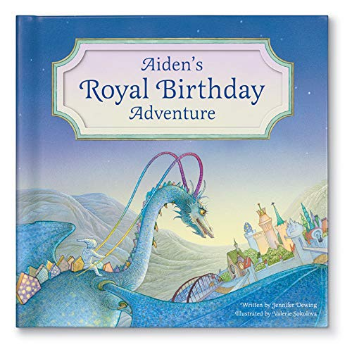 (Personalized Book for Kids Best Birthday Gift Dragon)