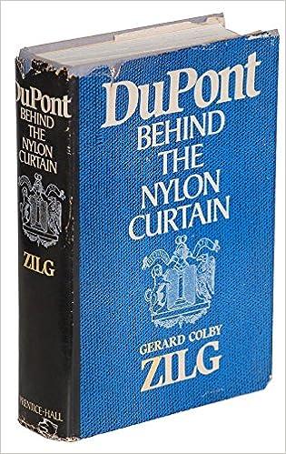 Du Pont: Behind The Nylon Curtain 1st Edition