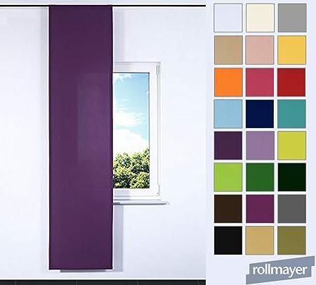 Riel flachenvor Hang – Placa Anel corredera cortina biombos 60 x 245 cm, tela, morado, IKEA System: Amazon.es: Hogar