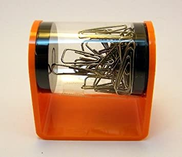 Arlac clip-fox B/üroklammerkalter orange 70er Jahre Style