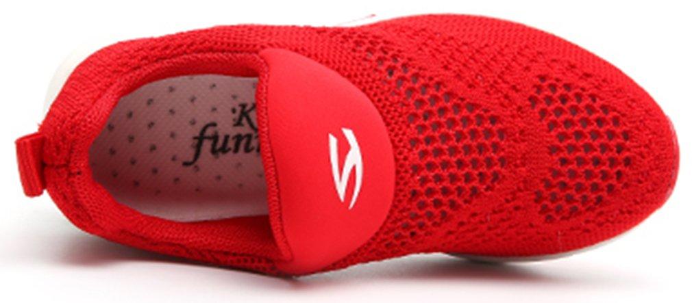 VECJUNIA Boy's Girl's Low Top Mesh Slip-On Non-Slip Outdoor Sneaker Travel Shoes by VECJUNIA (Image #2)