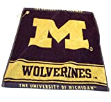 Michigan Wolverines Official NCAA 16 inch x 22 inch Golf Towel by Team Golf