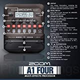 Zoom A1 FOUR Acoustic Instrument Multi-Effect