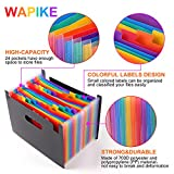 Expanding File Folder - 24 Pockets Multicolour