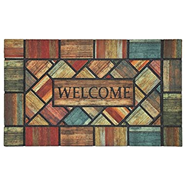 Mohawk Home Doorscapes Woodland Walk Welcome Mat, 1'6x2'6, Multi
