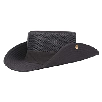 Breathable Bonnie Hat Black