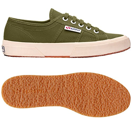 S003I10 unisex OLIVE GREEN COTUSHIRT 2750 Sneaker CAPULET Superga adulto q8nwgEAIZx