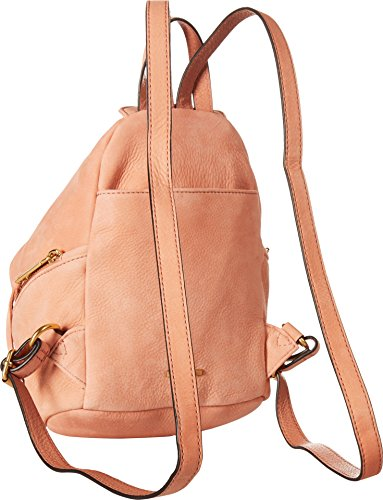Julian Minkoff Rebecca Womens Backpack Dusty Peach Stevie Medium HCq6C