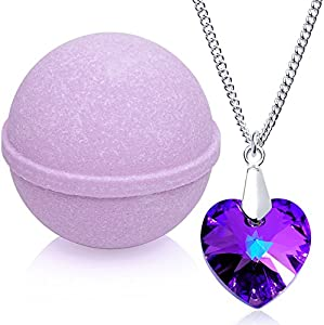 bath bombs with jewelry large lavender bath bomb with jewelry bouncy boxes 7447