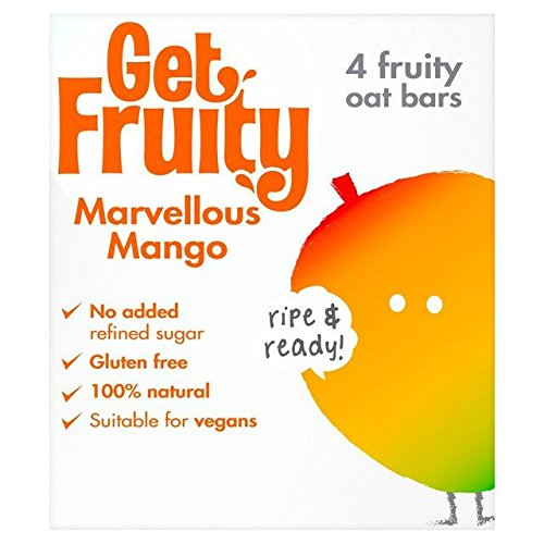Get Fruity Marvellous Mango - 4 x 35g (0.31lbs)