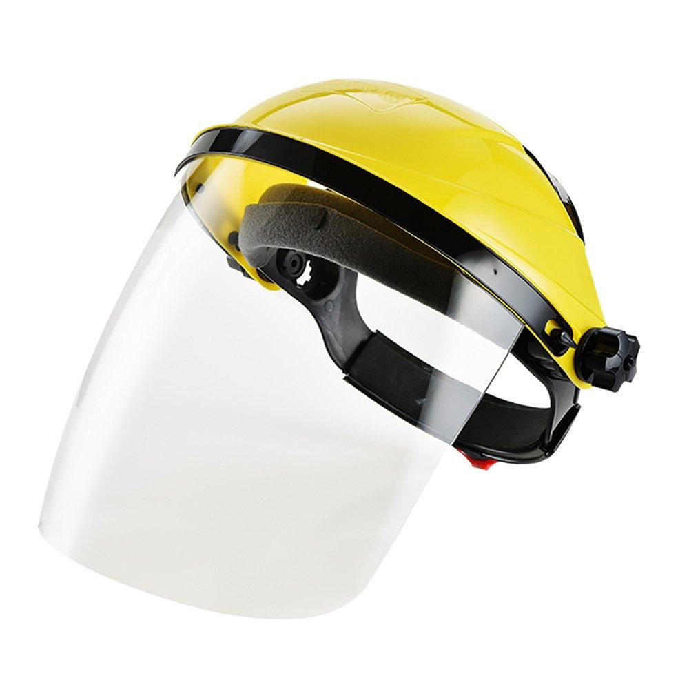 Zhi Jin ajustable transparente de seguridad Face Shield visera pantalla casco má scara anti scratch Splash –  Cubierta de protecció n de los ojos