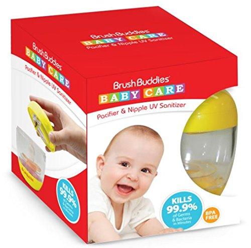 Brush Buddies 00505–24UV chupete y pezón desinfectante (paquete de 24)