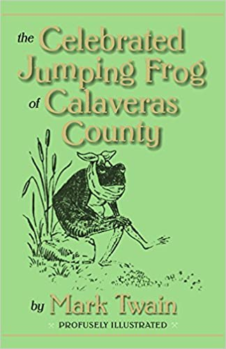 the notorious jumping frog of calaveras county story