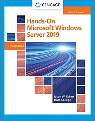 Hands-On Microsoft Windows Server 2019 (MindTap Course List), 3rd Edition - Original PDF