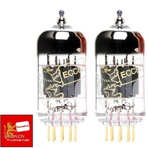 (Genalex Gold Lion 12AU7 / ECC82, Matched Pair (2 tubes))