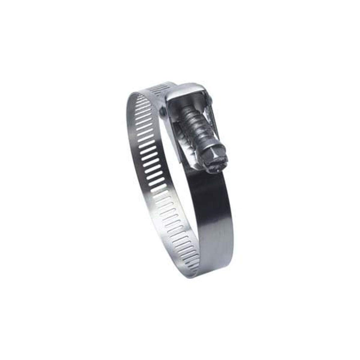 Pack of 10 Precision Brand B16HS All Stainless Worm Gear Hose Clamp 11//16-1-1//2