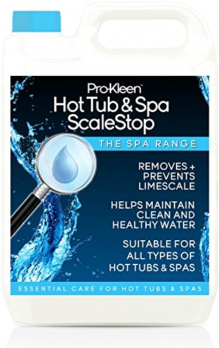 5L of Pro-Kleen ScaleStop Hot Tub & Spa Descaler - Limescale Removal & Prevention Inhibitor