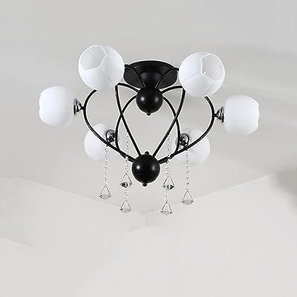 Lámpara de techo LED, Europa del Norte Lámpara de techo ...