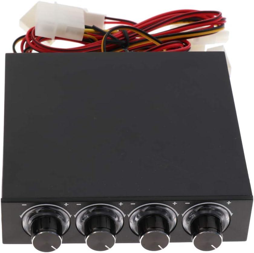 IPOTCH Controlador para Velocidades de Ventilador Tornillos de 4 ...