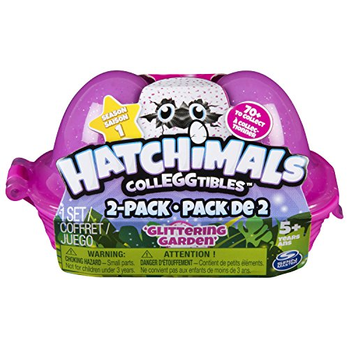 : Hatchimals Glittering Garden CollEGGTIbles Series 1 Blind Carton 2 Pack
