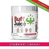 BuffJuice Fat Burner Powder. Your Big Meal Killer. Contains 5-HTP, EGCG, Rhodiola Rosea, Caffeine, L-Theanine, Fiber, and Vitamin B12. (Strawberry Lemonade) Review