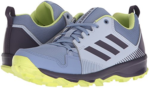 adidas outdoor Women's Terrex Tracerocker W Trail Running Shoe aero Blue/Trace Purple/semi Frozen Yellow 5 M US by adidas outdoor (Image #5)