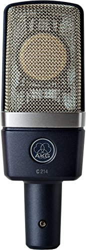 AKG & Zoom Studio Recording Pack with AKG C214 Condenser