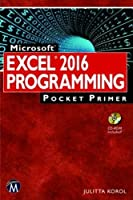 Microsoft Excel 2016 Programming Pocket Primer Front Cover