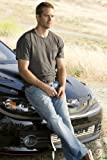 #4: Paul Walker leaning on hood of his car Fast And The Furious 24x36 Movie Poster