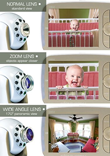 Large Product Image of Infant Optics DXR-8 Video Baby Monitor with Interchangeable Optical Lens