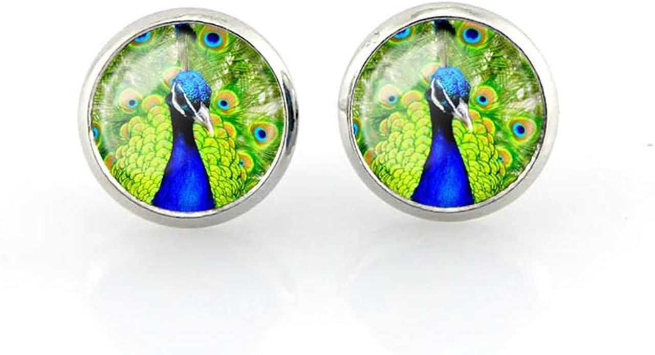 Cute Earrings| Peacock earrings Animal Earrings