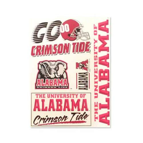 - Alabama Crimson Tide Decal 11x17 Ultra