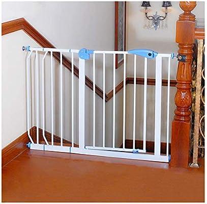 NOOYC Puerta de Seguridad para los bebés, Barrera de Seguridad sin taladrar 82-200cm Ancha Puerta de Seguridad Bebé Puerta de la Escalera Presión Monte Barrera Seguridad,182-190cm: Amazon.es: Hogar