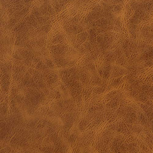(Rawhide Gold Yellow Distressed Leather Grain Plain Solid Polyurethane Vinyl UltraHyde Performance Grade Upholstery Fabric by the yard)