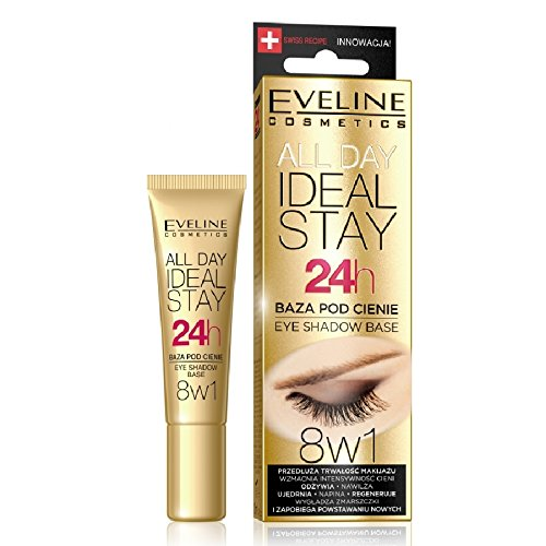Eveline 8in1 Eye Shadow Base All Day Ideal Stay 24h Eye Primer 12ml