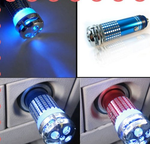 Tangc Hot Mini Auto Car Fresh Air Ionic Purifier Oxygen Bar Ozone Ionizer Cleaner