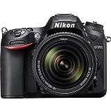 كاميرا نيكون D7200 دي اس ال ار مع عدسة 18-140 ملم