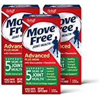 3-Pack Move Free Glucosamine & chondroitin + msm Joint Health Tablets