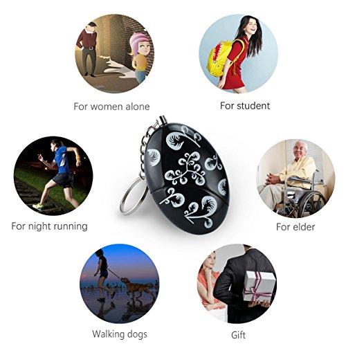 Lermende 120 dB Personal Alarm Keychain