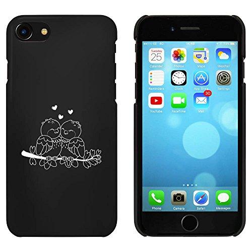 Noir 'Amoureux' étui / housse pour iPhone 7 (MC00074355)