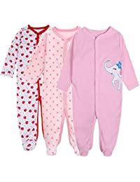 3c7fddd3aa00 Baby Girl s One Piece Rompers