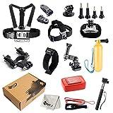 SNT Basic Outdoor Sports Kit Ultimate Combo Kit for GoPro HERO 5 4 3+ 3 2 1