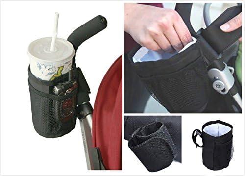 Yosoo Universal ajustable Baby Stroller Cup Botella de agua ...