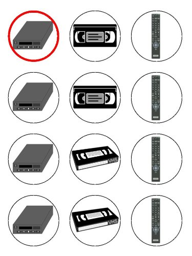 twelve-2-vintage-vcr-video-recorder-cassette-tape-edible-image-birthday-cupcake-toppers-decorations-