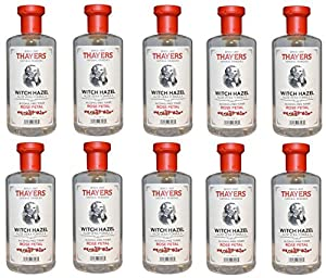Thayers Alcohol-free VQmGXs Rose Petal Witch Hazel with Aloe Vera, 10Pack (12oz)