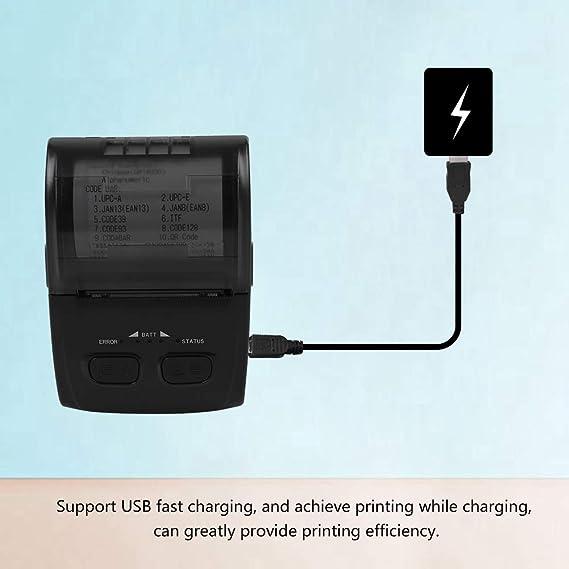 Amazon.com: Fosa - Impresora portátil de recibos para ...