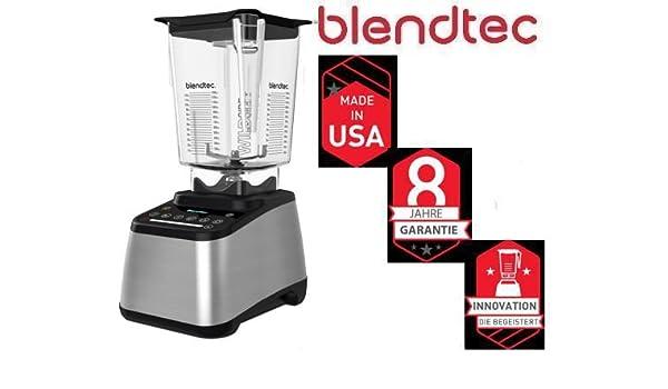 Blendtec – 725 Plata Incl Wild Side Jar 3, 8 PS Smoothie Licuadora ...